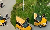 Mersin#039;de Kız Kardeşinin Üzerine Aracını Süren Taksici