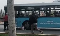 Mersinde Belediye Otobüsünün Çarptığı Kadın Öldü!