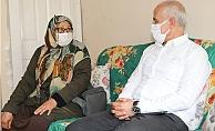 Başkan Gültak Şehit Annelerini Ziyaret Etti.