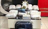 Mersin'de Bir Evde 58 Kilo Esrar Ele Geçirildi.