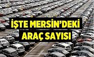 Mersin'deki Kayıtlı Araç Sayısı Belli Oldu.
