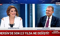 Seçer, Haber Türk Yayınında Projelerini Değerlendirdi.