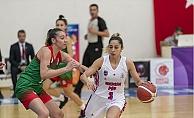 GSK Kadın Basketbol, Karşıyaka Çarşı Koleji'ni 103-49 Mağlup Etti.