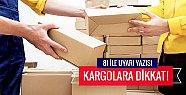 81 İL İÇİN ''TERÖR KARGOSU'' ALARMI
