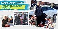Adana'da Vatandaşlar Dakikalarca İzleyip Telefona Kaydettiler