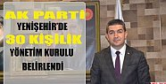 AK Parti Mersin Yenişehir İlçe Yönetim Kurulu Belirlendi