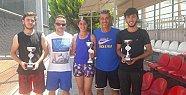 Akdeniz Belediyespor Teniste de İddialı
