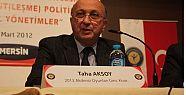Akdeniz Oyunları Kordinatörü Aksoy Özür Diledi.