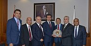 Akib Başkanları, Bakan Zeybekci'den Destek
