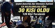Ankara'da ki Patlama'nın Acısı Mersin'e Düştü