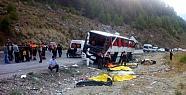 Antalya Yolunda Katliam Gibi Kaza: 13 Ölü