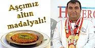 Aşçımız Mersin'e Altın Madalya İle