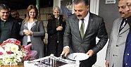 Başkan Tuna'ya Sürpriz Doğum Günü