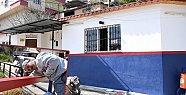 Büyükşehir Belediyesi, Mersin İdmanyurdu'nun Renklerini Mahallelere Nakşediyor