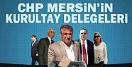 CHP Mersin'in Kurultay Delegeleri Kimden...