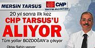 CHP Tarsus'u 20 Sonra Geri Alıyor