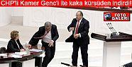 CHP'li Kamer Genç'i ite kaka kürsüden indirdi!