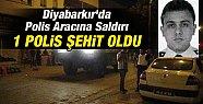 Diyabarkır'da Polis Aracına Saldırı: