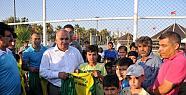 Erdemli Yaz Spor Okulu Açıldı