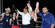 Erdemli'de Kick Boks Şampiyonlar Gecesi