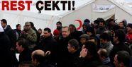 Erdoğan'dan Van'dan Ayrılacaklara Resti Çekti.