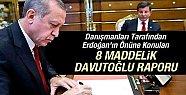 Erdoğan'ın Önüne Konulan 8 Maddelik