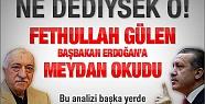 Fethullah Gülen'den Başbakan'a Rest