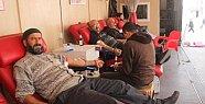 Gülnar'da Kan Bağışı
