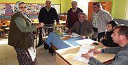Hacıbahattin Köyünde Referandum