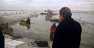 İstemihan Talay Sel Bölgesinde İncelemelerde Bulundu