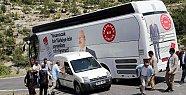Kılıçdaroğlunu'nun Otobüsü Kaza Geçirdi