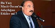 Macit Özcan'ı Zora Sokacak Kriz...