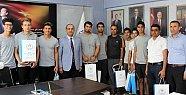 Mersin Spor Lisesi Türkiye Şampiyonu Oldu