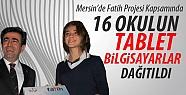 Mersin'de 16 Okula Tablet Dağıtıldı