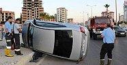 Mersin'de 34. Cadde'de Yaşanılan Trafik