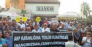 Mersin'de Aleviler Cemevine Gazlı Saldırıyı