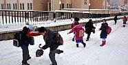 Mersin'de Eğitime Kar Engeli Nedeni İle