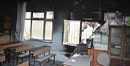 Mersin'de İlkokulda Yangın Paniği Korku Yarattı.