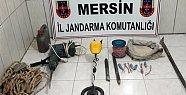 Mersin'de Kaçak Kazı Yapanlar Suçüstü Yakalandı