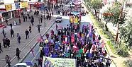 Mersin'de Kadınlar Şiddete Karşı Yürüdü