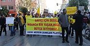 Mersin'de KESK Üyeleri İş Bıraktı