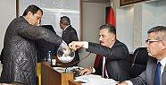 Mersin'de Köyler Arası Geleneksel Futbol Turnuvası'nın Kuraları Çekildi.