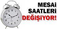 Mersin'de Mesai Saatleri Değişti