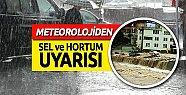 Mersin'de Meteorolojiden Sel Uyarısı Aman DİKKAT !