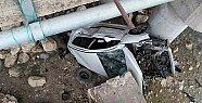 Mersin'de Otomobiliyle Dereye Uçan Sürücü Yaralandı.