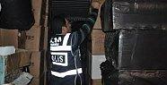 Mersin'de Sigara ve Alkol Kaçakçılığı Operasyonları