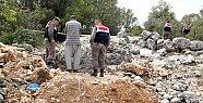 Mersin'de Sit Alanında Kaçak Kazıya Suçüstü