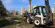 Mezitli'de Yıkılan Tesislerin Yerine Park