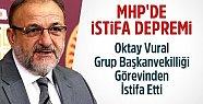 MHP'de Oktay Vural İstifa Etti