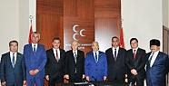 MHP'li Belediye Başkanlarından Bahçeli'ye Ziyaret